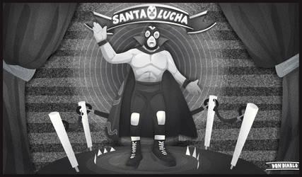 Santa Lucha by mazui