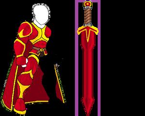 Gilded Knight Set
