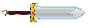First Sword With Glow