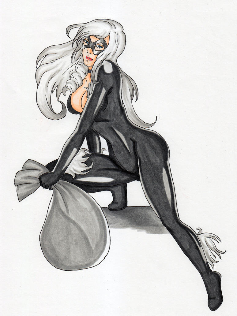 Black Cat by CrimsonStigmata2501