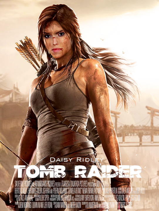 Daisy Ridley Is Lara Croft Movie Poster By Skyseed21 On Deviantart