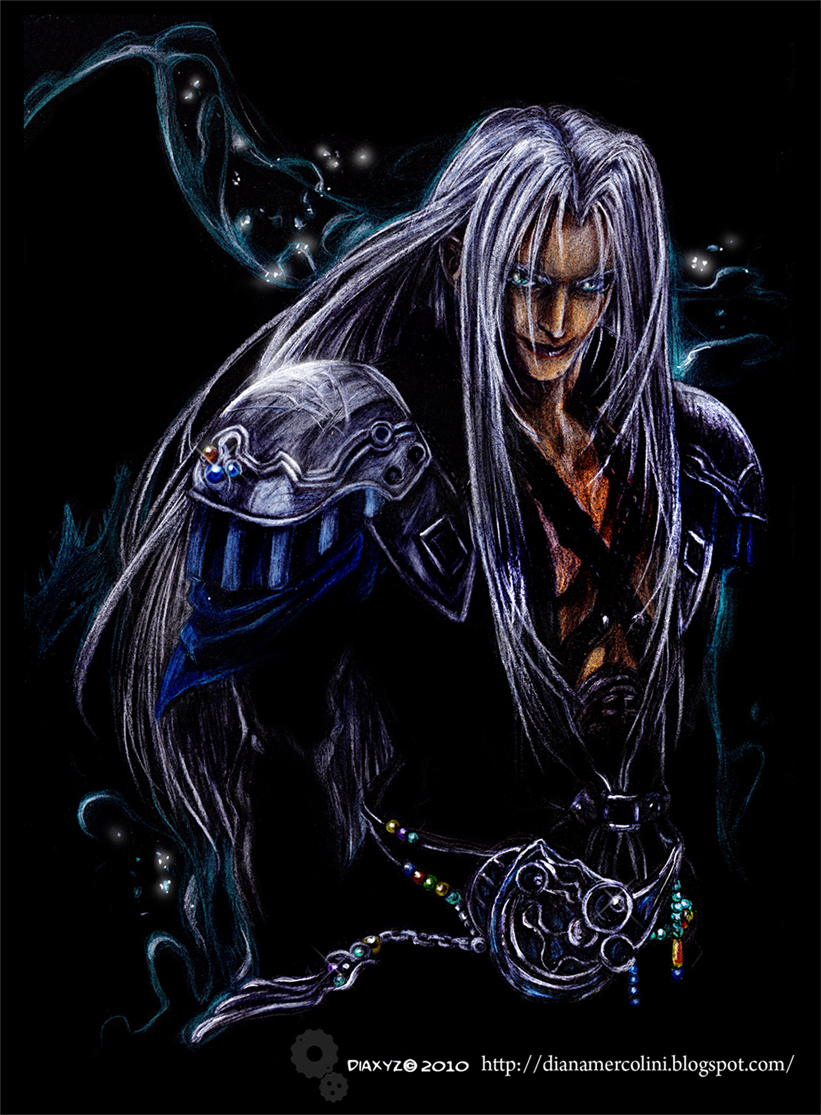 Sephiroth : Born in the dark by DiaXYZ