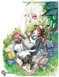 From Novel to Manga