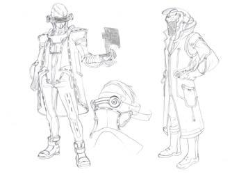 Sci-fi concept_male by DiaXYZ