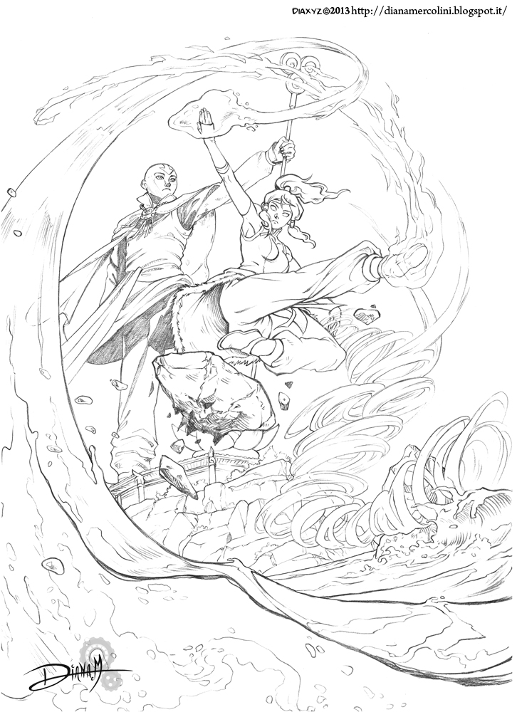 Avatar The Legend Of Aang Coloring Page Free Avatar The Prince Zuko ...