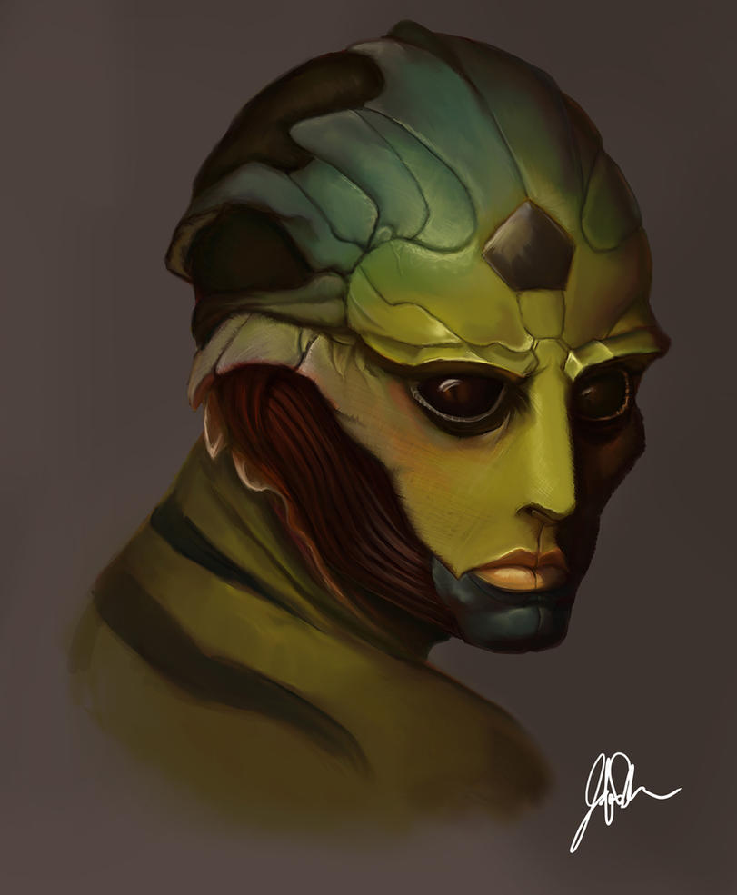 Thane Krios by Fuzzysocks102