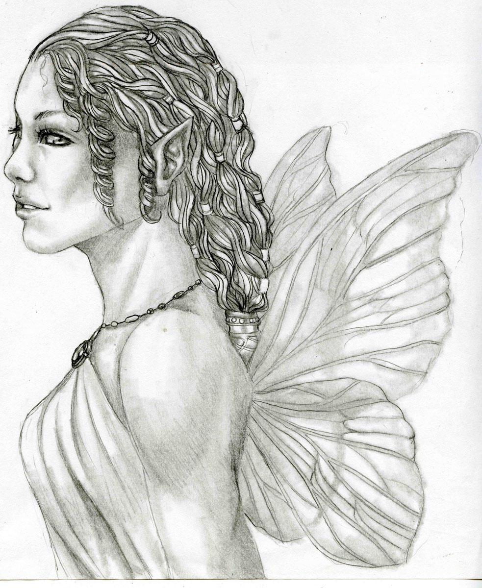 Fairy drawing by Fuzzysocks102 on DeviantArt