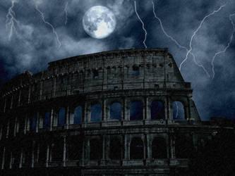 Storm in Rome by MickelHiwatari
