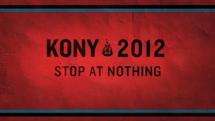 Kony 2012 - for a better world