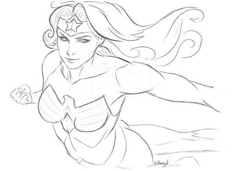 my Wonderwoman (fanart)