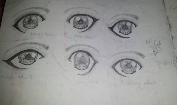 The Different Ages of Eyes