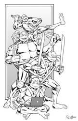 Turtles,Ninja,Mutant.Teenagers