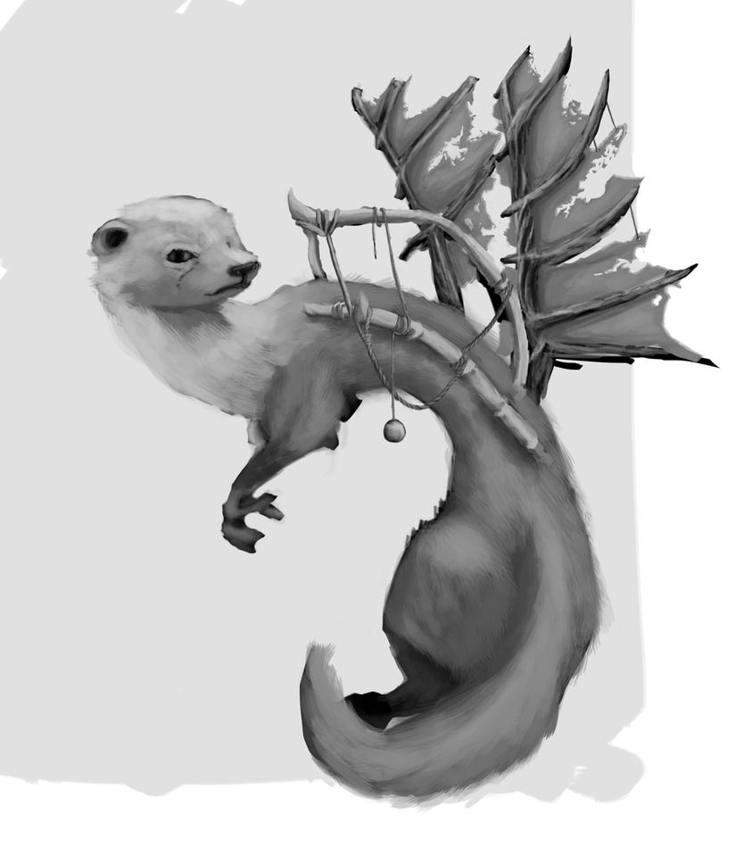weasel shade study by mateoatya