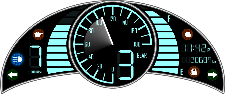 Motorcycle Instrument Panel : Motorcycle instrument panel by celtic ninja on deviantart