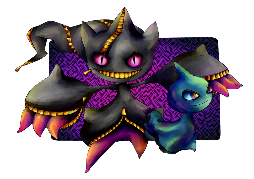 Mega banette and shuppet by iffy jiffy on deviantart - Mega branette ...