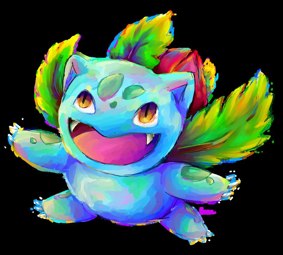 #002 Ivysaur by Iffy-Jiffy