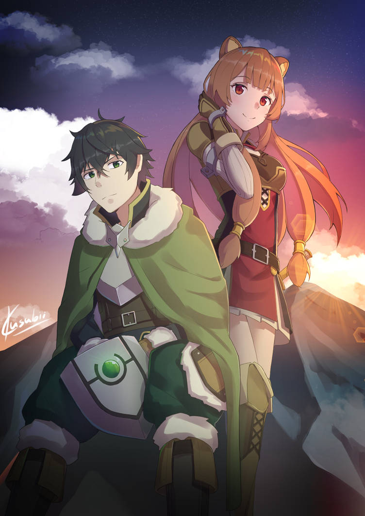 The rising of the shield hero by kusubii on deviantart - The rising of the shield hero raphtalia ...