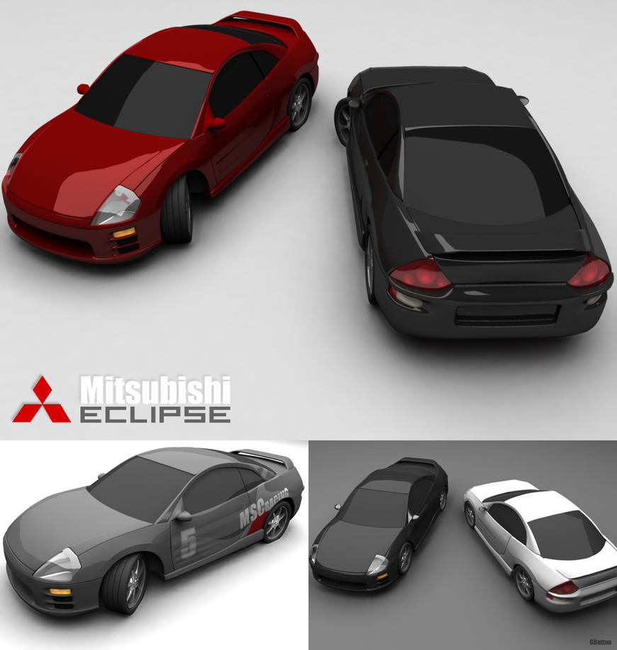 Mitsubishi Eclipse by GButton