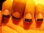 Black Lace by sharpnailart