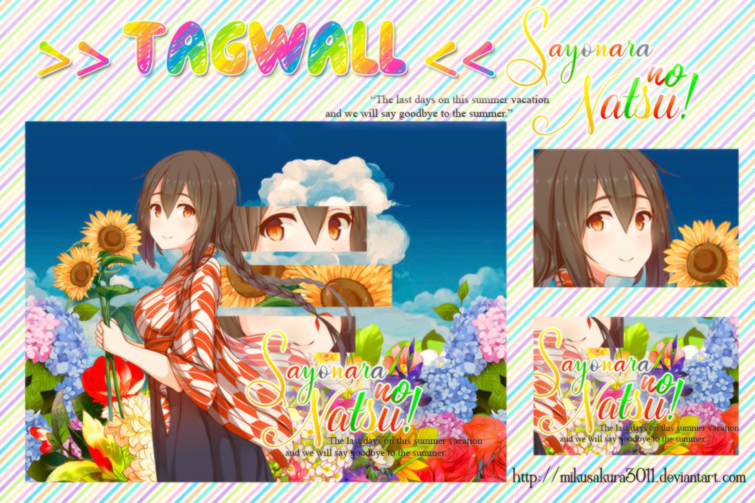Cover #38: Sayonara no Natsu! by Mikusakura3011