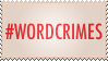 #wordcrimes by TheSallySaga