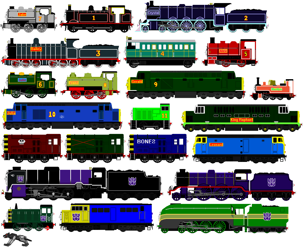 Stories of the New Railway Cast 1 by JamesFan1991 on DeviantArt
