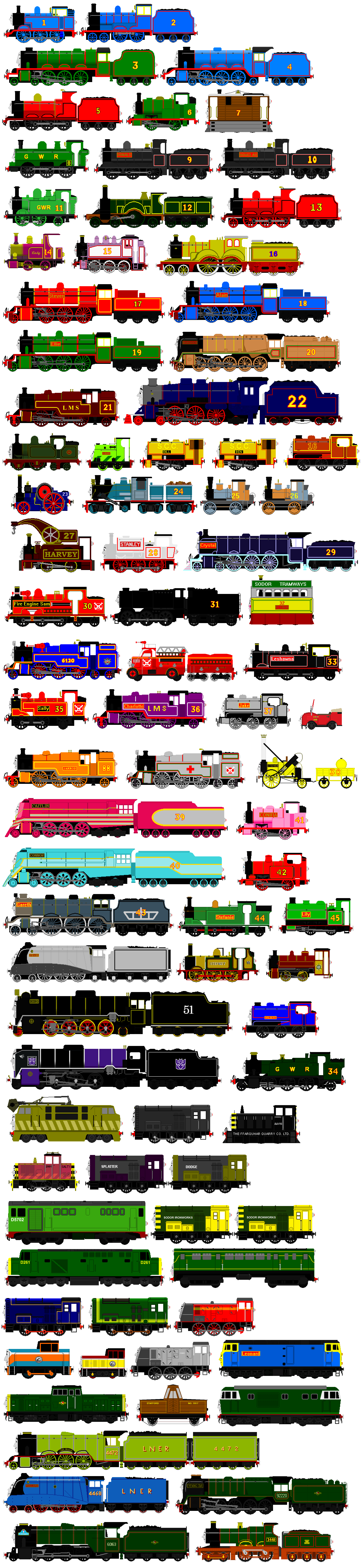Thomas and Friends Animated Characters 10 by JamesFan1991 on