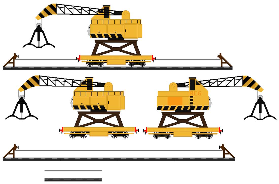 reg the scrapyard crane -#main