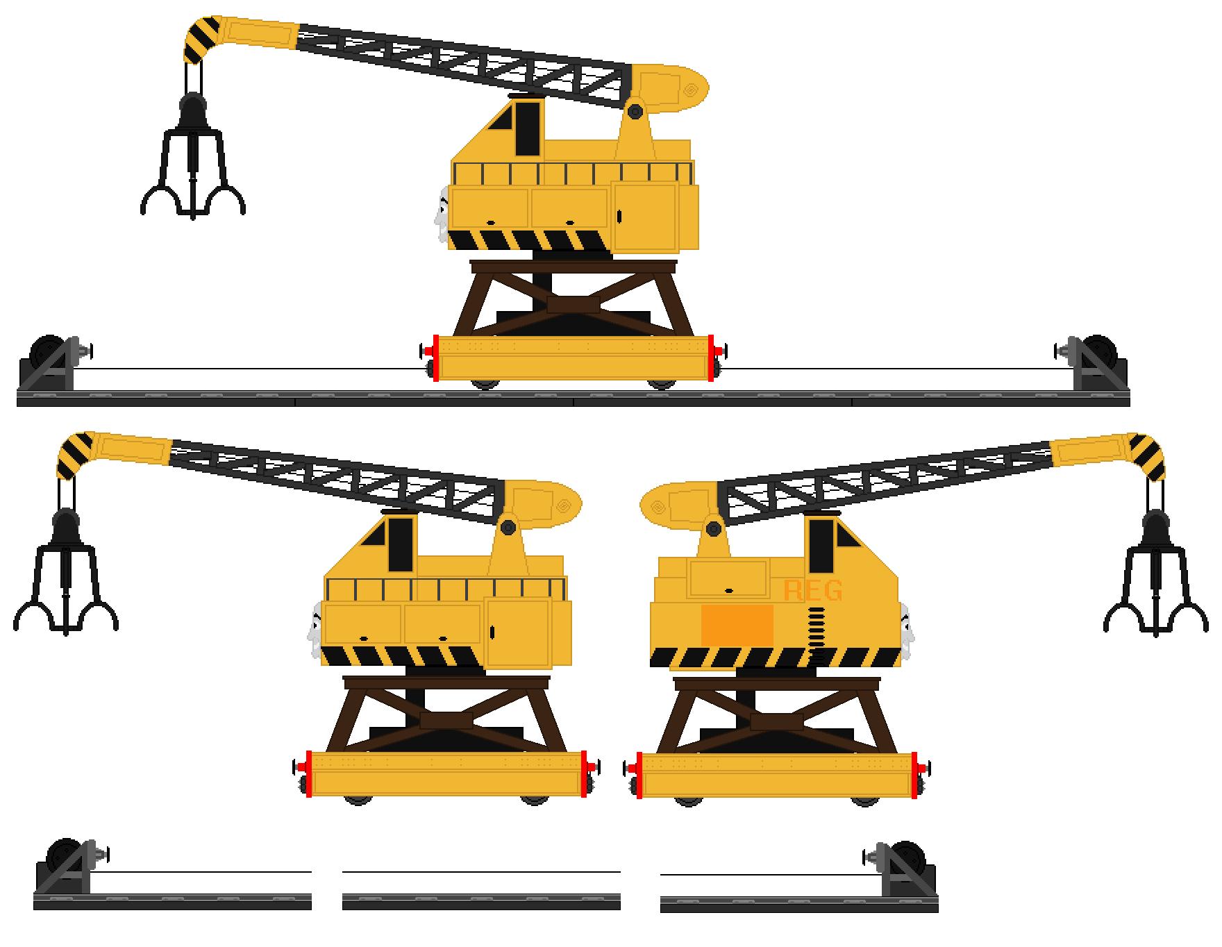 reg the scrapyard crane - photo #1