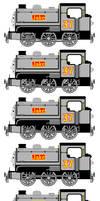 Jake the Silver Saddle Tank Engine (Sprites Sheet)