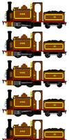 Duke the Lost Engine (Sprite Sheet)