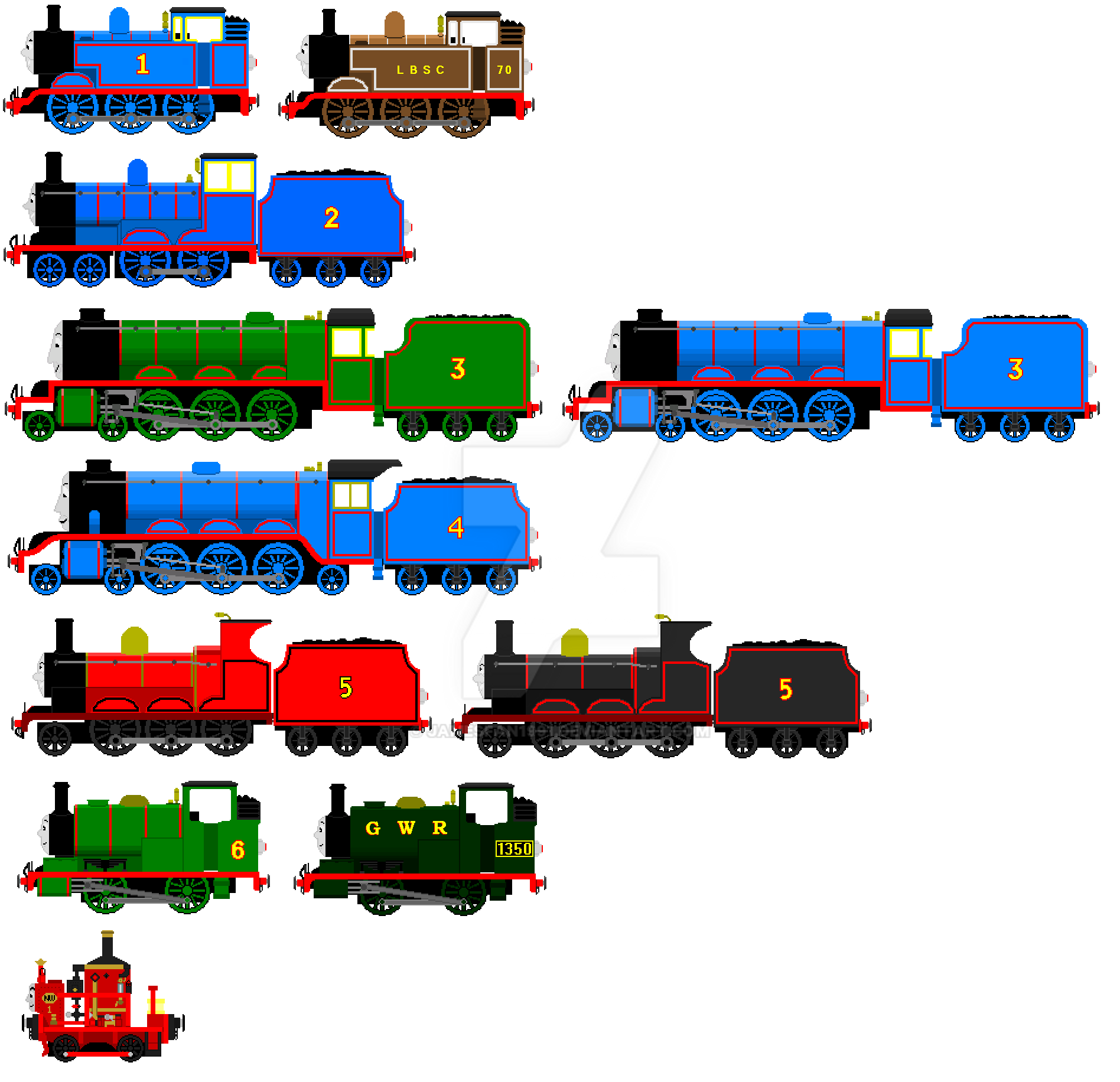 The Adventure Continues Engines Sheet By Jamesfan1991 On Deviantart