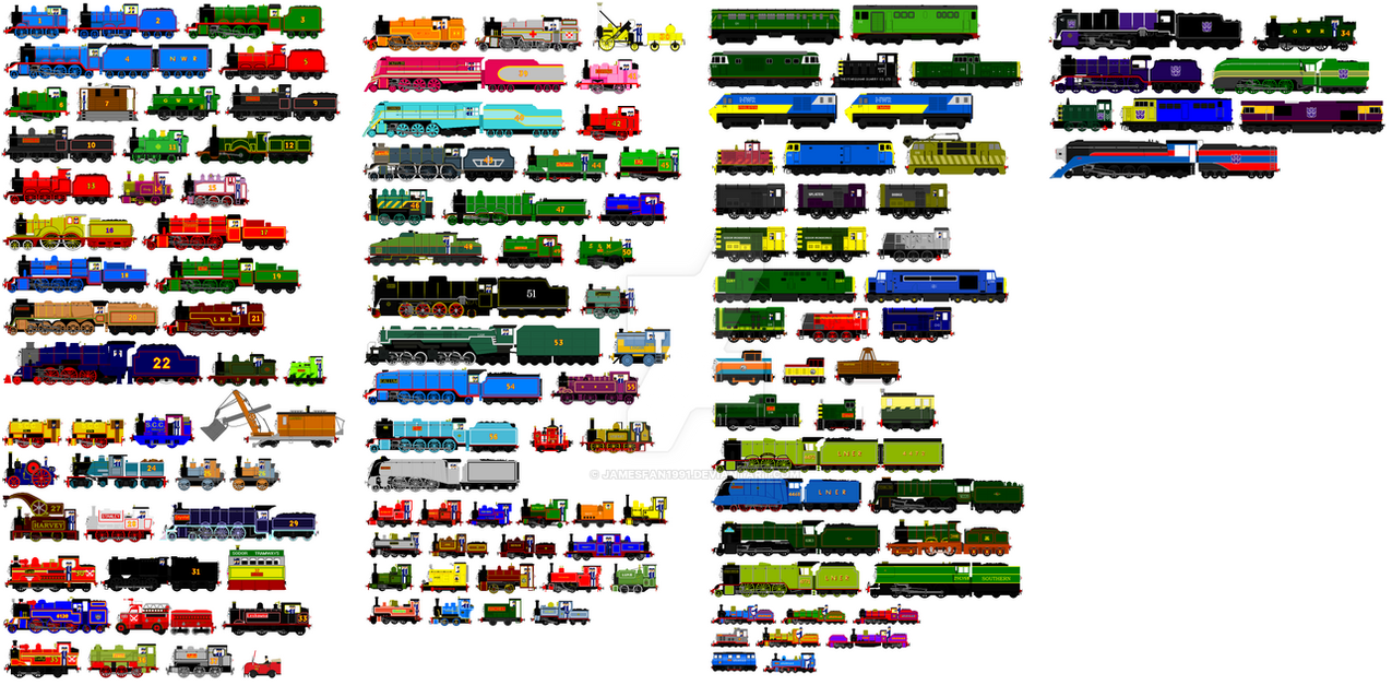 Image boco in trainz thomas and friends png scratchpad fandom - Thomas And Friends Animated Characters 17 By Jamesfan1991