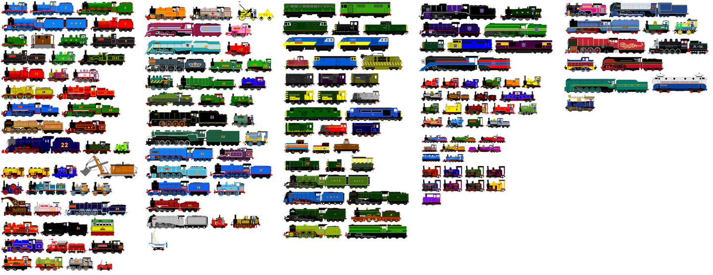 Thomas And Friends Animated Characters 18 By JamesFan1991