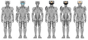 My Designs for the Cybermen