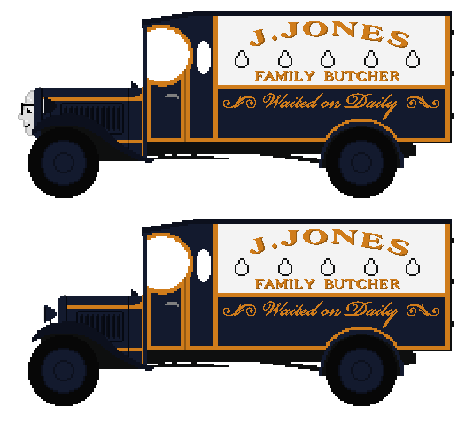 Private Jones the Butcher's Van by JamesFan1991