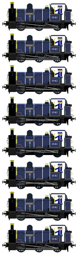 Sonny the Well Tank Engine (Sprite Sheet)