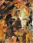 self portrait collage by fantomas1