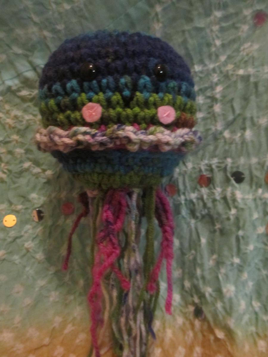 Amigurumi Jellyfish : Amigurumi Jellyfish by Tiffamis on DeviantArt