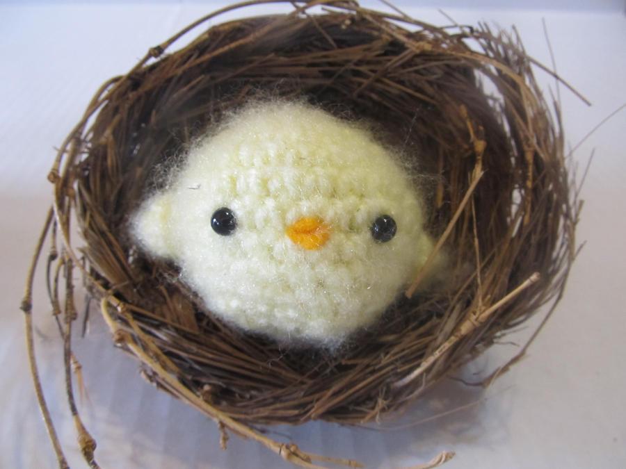 Baby Bird Amigurumi : Baby Bird Amigurumi by Tiffamis on deviantART