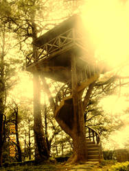 tree house by charmarushka