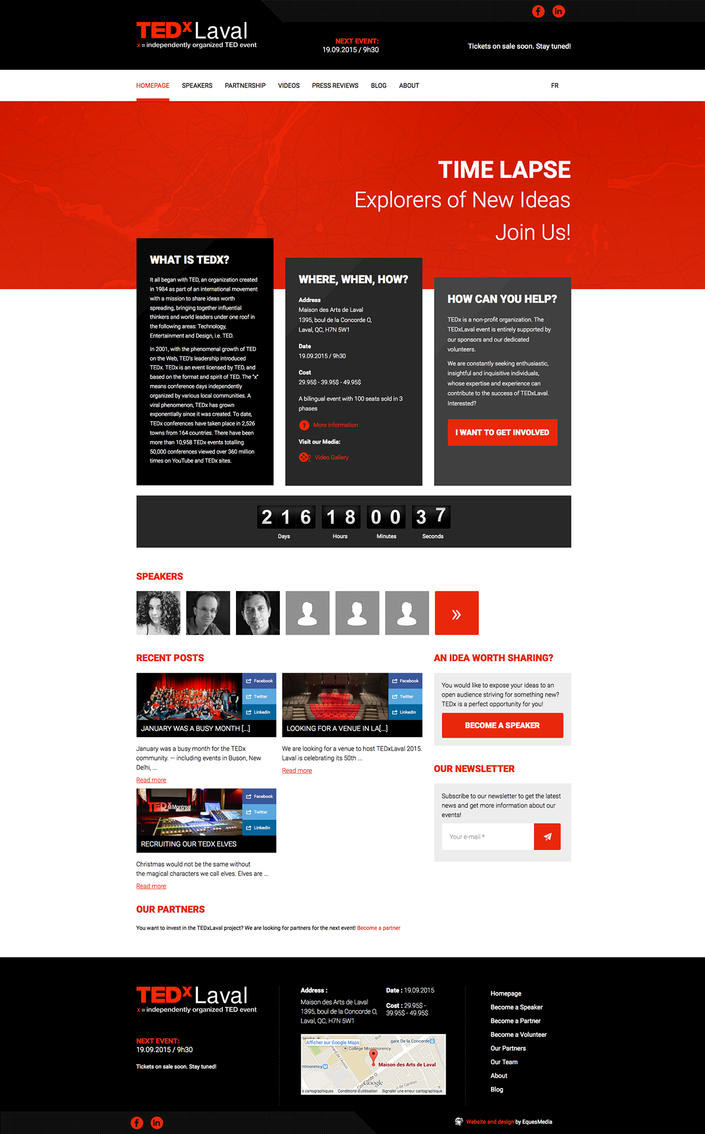 TEDxLaval by Eques-Design