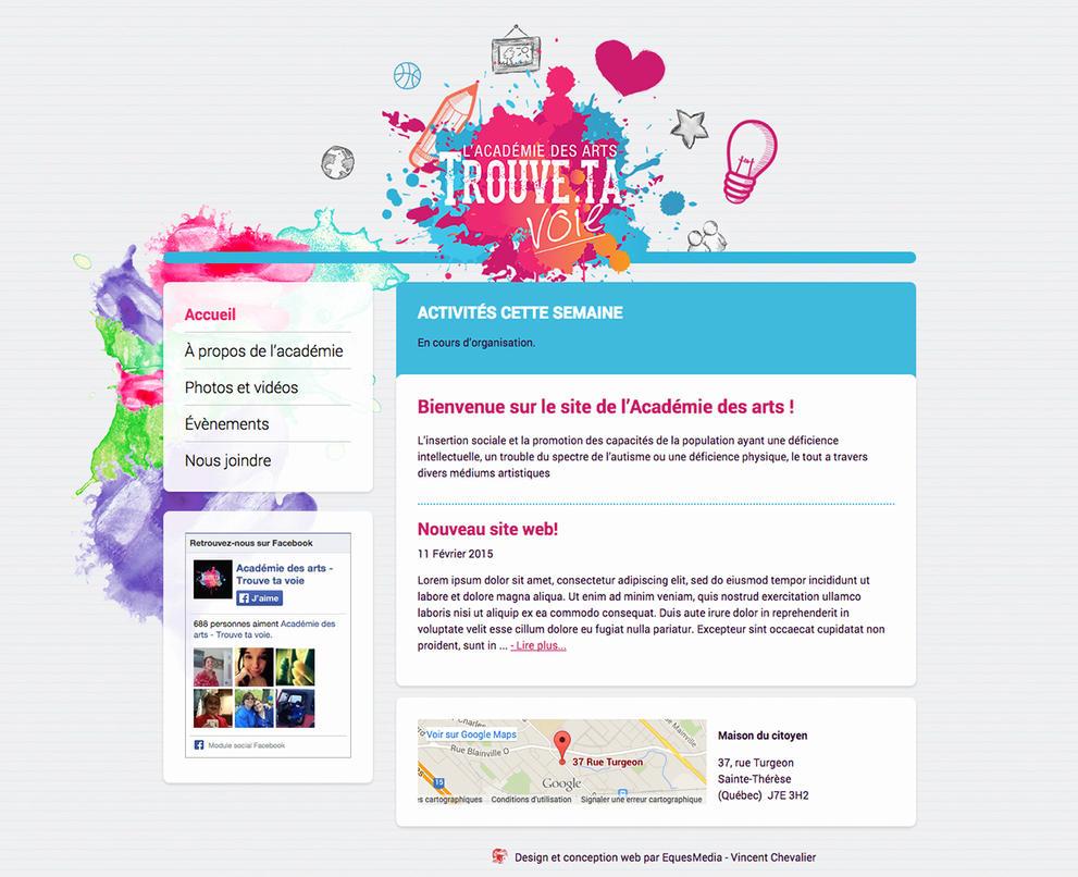 Academie trouve ta voie by Eques-Design