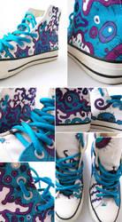 Bacteria shoes by DanishCookie