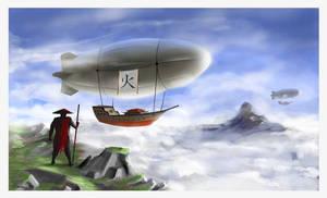 Zeppelins by Coalbiter