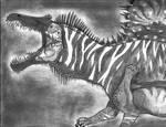 The Zebra Spinosaurus