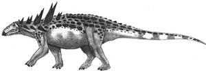 Giant nodosaur