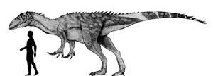 Megaraptor namunhuaiquii Scale