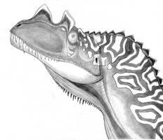 Ceratosaurus dentisulcatus by Fragillimus335