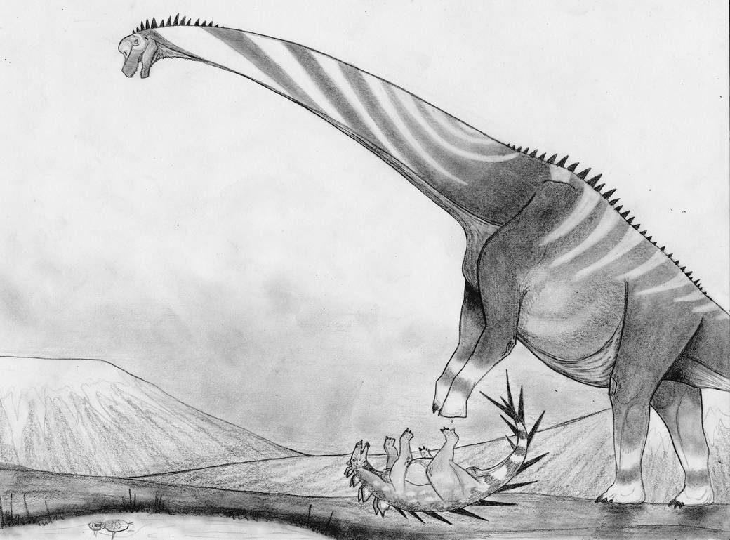 Giraffatitan Smash! by Fragillimus335
